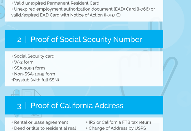 What do you need to get a Real ID in California?