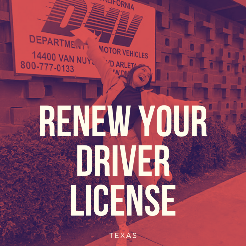 So you need to renew your driver's license in Texas? - YoGov